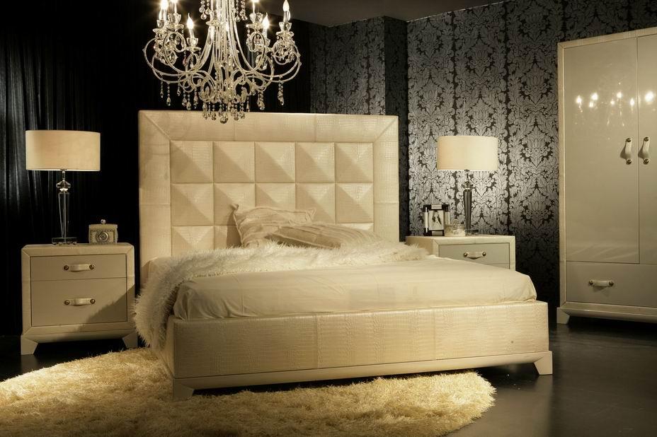 CB10-2 Leather BED- Jl&C Furniture 1