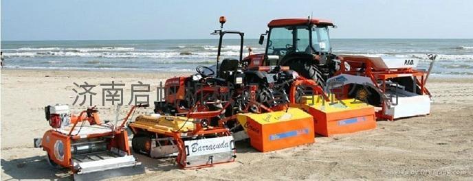 沙滩清洁车  1