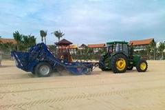 沙滩清洁车