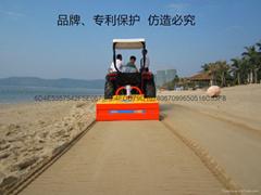 曼塔經濟型進口國外沙灘清潔車