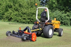 足球運動草坪根系修剪機