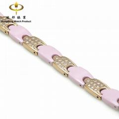 Ceramic & Titanium Bracelet(Cp24M-TiE10-R1)