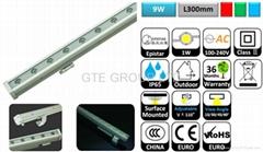 L300mm 9W LED型洗牆燈