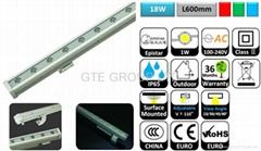L600mm 18W LED洗墙灯