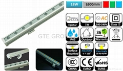 L600mm 18W LED Wall Washer Light