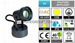 3W COB LED Garden Spotlight