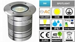 IP67 9W COB LED Underground Light