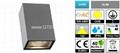 IP54 2x5W COB LED Slim Wall Light