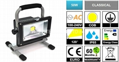 Portable Rechargeable 50W COB LED