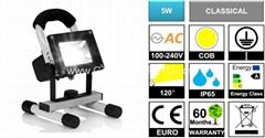 Portable Rechargeable 5W COB LED