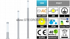 18W  LED Post Light [TUB
