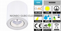 [Ceiling Mounted] Adjustable 10W COB LED Spotlight