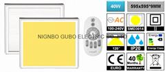 【CCT Changing】   40W LED Panel Light   【600x600mm】