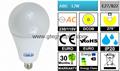 [DCOB]  A80 LED Global Bulb 12W [PC]