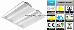 40W LED Troffer Light 【6