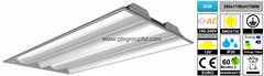 80W LED Troffer Light