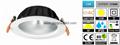 15W LED Downlight 【Cutout D160mm】