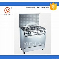 Free stainding gas oven