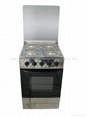 连体烤箱灶