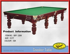 SBY-2208# Snooker Table