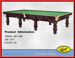 SBY-2206# Snooker Table