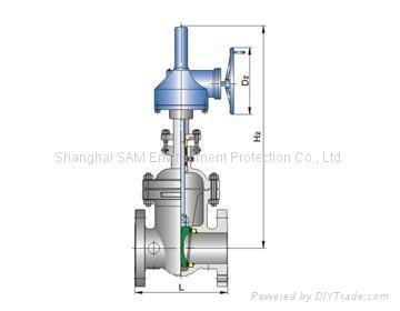 Low-temperature globe valve