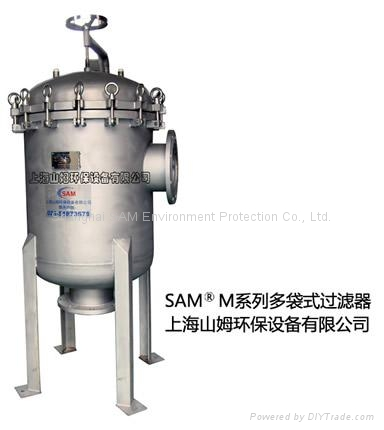 water treatment filter housing