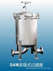 不鏽鋼精密過濾器/袋式過濾器