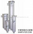 liquid filter housings