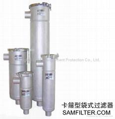 liquid filter housings