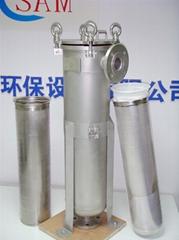Lubricants filter vessel