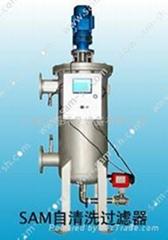 High viscosity filter strainer