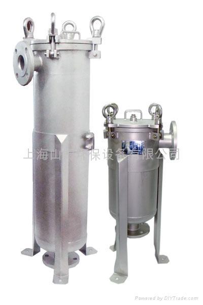 preservative filter housing