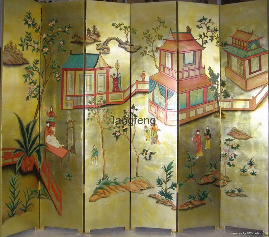 香格里拉酒店裝飾屏風 1