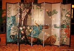 香格里拉酒店屏風