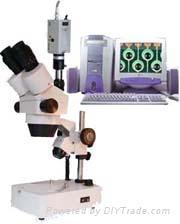 電腦型連續變倍體視顯微鏡