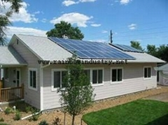 on grid home solar power
