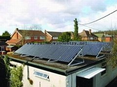 grid off home solar powe
