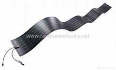 Flexible thin film solar panels