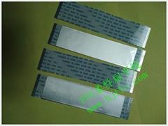 軟排線扁平線黑色膠膜扁平線耐溫105度ffc線