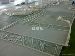 強化爐硅膠板