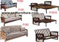 bedroom furniture living room bed wooden(bed3) 1
