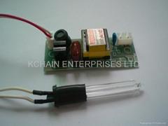 3V ELECTRONIC BALLAST FOR 1.5W COLD CATHODE UV LAMP