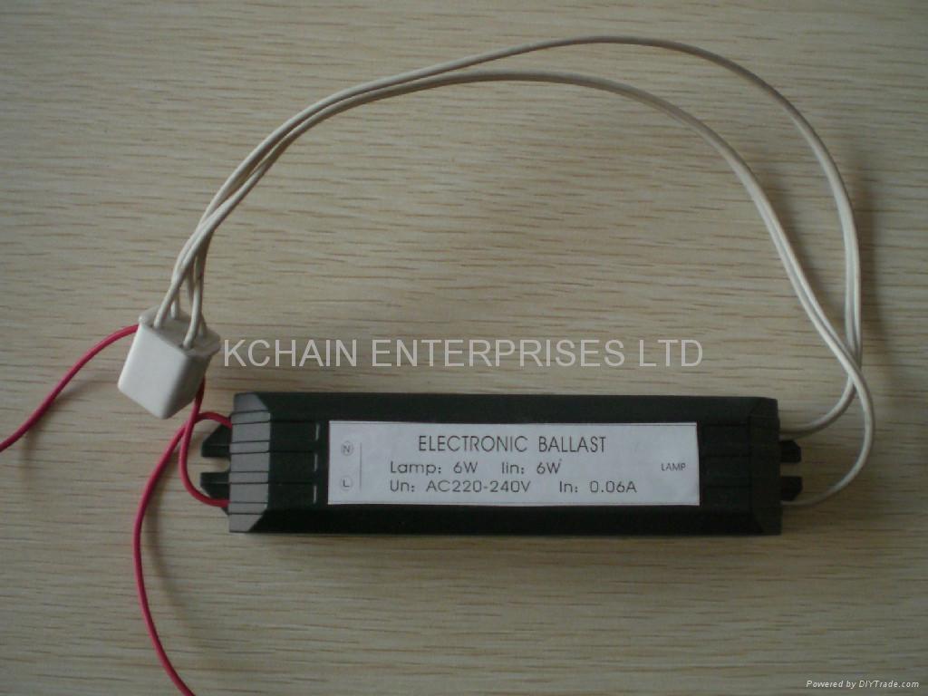 220V 6W ELECTRONIC BALLAST FOR T56W UV LAMP 1
