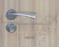 Solid Stainless Steel material Lever type door Handles
