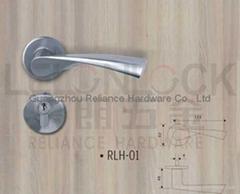 Solid Stainless Steel material Lever type door Handles
