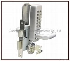Zinc Alloy material Mechanical Digital Code Locks