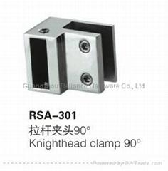 shower door knighthead clamps