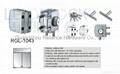 Quality Zinc Alloy material Glass Door Locks 3