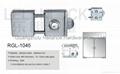 Quality Zinc Alloy material Glass Door Locks 5